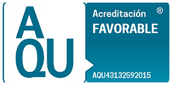 Acreditacioó AQU Favorable
