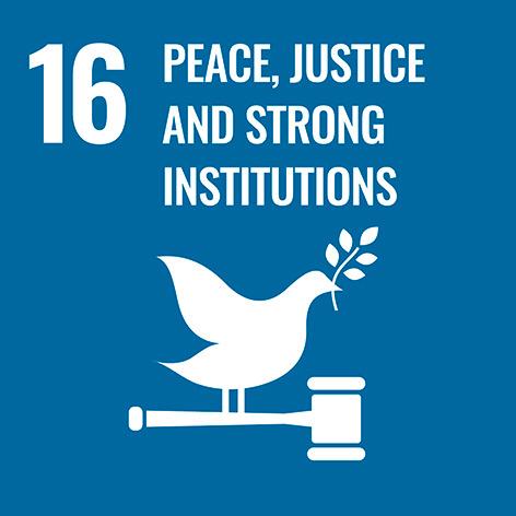 Pau, Justícia i Institucions Sòlides