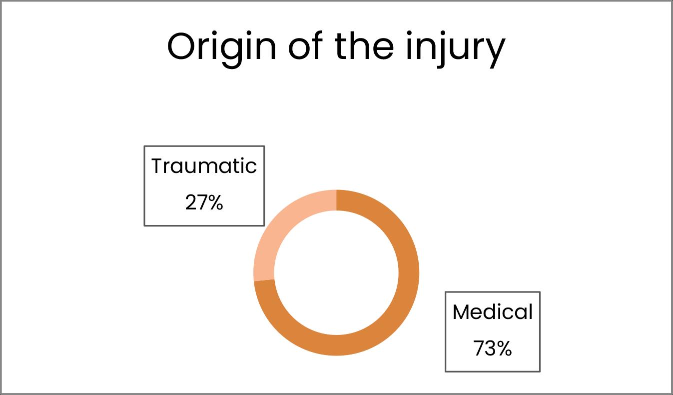 Origen de la lesió